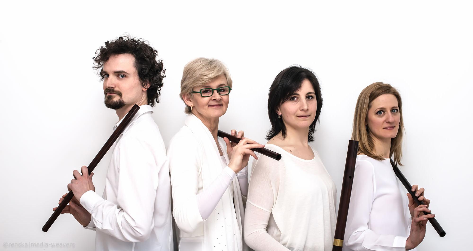 Renaissance Flute Consort Photo ©renska⎪media-weavers